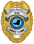 PIO Boot Camp Badge - Police Media Relations